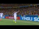 Чемпионат Мира 2014 - Все голы (русский комментарий вживую) (часть 1-2)