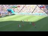 Чемпионат Мира 2014 - Все голы (русский комментарий вживую) (часть 3-1)