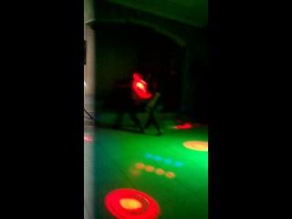 Амбалова Сабина и Аслан Туаллагов кабардинский танец(19.12.2014)