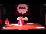 Kaya и Asagi (D) - Mayoi и Asami, косплей-группа In the name of the Rose (Москва) - J-rock convent 2014
