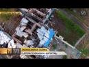 Стёртые с лица земли Донецкие сёла с высоты птичьего полёта 02.09.14