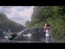 Авто регистратор - Водитель внедорожнике на дороге Грушовка Судак в Крыму устроил масштабное ДТП ДТП авария