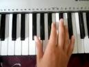 Bahh Tee Ты меня не стоишь , учимся играть на пианино.