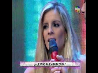 Alejandra Baigorria niega su embarazo