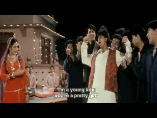 Mehndi Laga Ke Rakhna Eng Sub [Full Video Song] HD With Lyrics - DDLJ