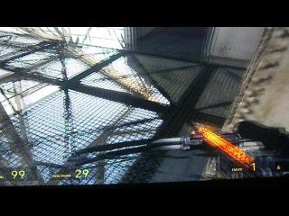 HL2 прохождение Окроева часть 20 . А теперь по мосту !