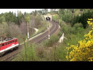 Die Semmeringbahn und ihre Tunnel Teil 15 Streckenabschnitt zwischen Kub und Eichberg