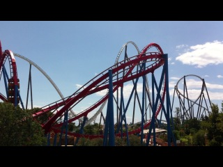 Port Aventura. Dragon Khan @ Spain