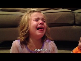 Little Girl Is Devastated When She Finds Out Her Baby Brother Is Gonna Grow Up