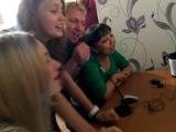 Поём УТРОвские песни через Skype. Солирует Олег Ульянов