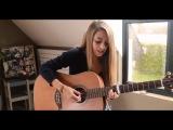 красивый голос,классно поет,шикарный голос,талант,девушка спела песню - Papaoutai - Stromae ( Cover by Lisa Spindler )