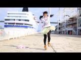 Очень няшное видео -3 Японка няшка танцует! - A beautiful Japanese dancing