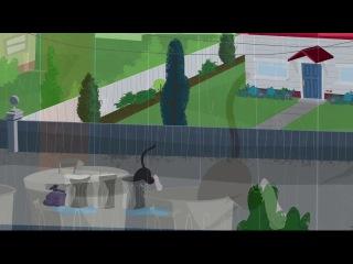 The Tom and Jerry Show 2014 (RUS) Ep.9 Мышонок-призрак/Том неудачник