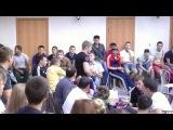 Бои без правил 25 июля 2014 г. Тольятти (Портпосёлок) -