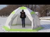 КРАШ тест палатки ЛОТОС 5