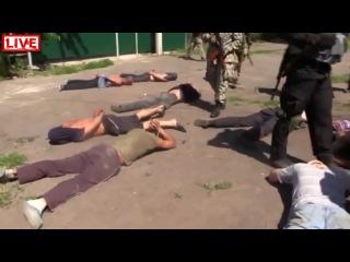 Пленные сепаратисты в Мариуполе.mp4