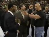 Драка в прямом эфире Майк Тайсон реальная драка с рестлером- mike tyson real fight