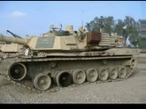 Подбитые танки Абрамс. Ирак.