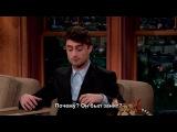 Craig Ferguson 2014 08 08 Daniel Radcliffe (русские субтитры)