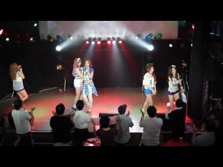 04.07.2014 Tahiti - Blow My Speakers Out @ Flamingo the Arush, Оsaka Tahiti in Japan (Concert Tour)
