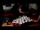 Веселая алко игра в стиле бир понг