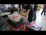 Bosch GTS 10 XC Настольная циркулярная пила (демонстрация функций в работе)