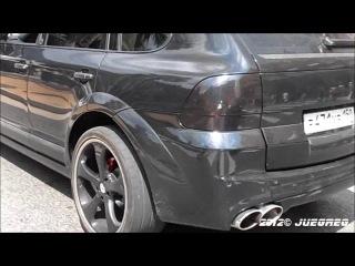 Porsche Cayenne Techart Magnum в Монако