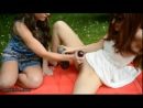 in public park with my friend julie can happen normal things. Fisting, Lesbo, Teen. Veneisse, Julie Skyhigh