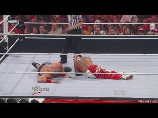 John Cena vs Rey Mysterio, Monday Night RAW 25.07.2011 - WWE Championship Match