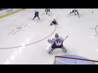 Alex Ovechkin's Diving Backcheck Breaks