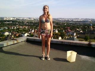 Ice Bucket Challenge - Katerina Kurochkina