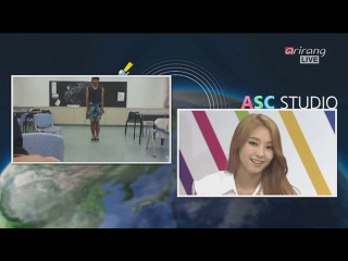140805 - After School Club Live (KST) SISTAR(씨스타) - Touch my body シスター