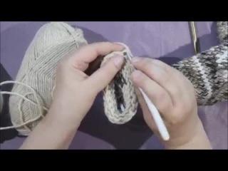 МК по вязанию джурабов крючком