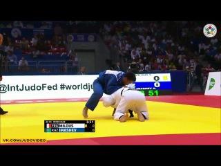 2014 World Championships Chelyabinsk (-60kg Repechage) MILOUS Sofiane (FRA) - IMASHEV Aibek (KAZ)