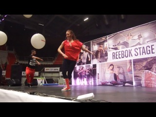 Katya Vasilenko & Carlos Ramirez @ Fitness Summit 2014 St. Petersburg