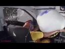 Audi A4 2013-2014 BMW Mazda 6 Краш-тест, Crash-Test