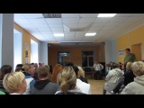 Олег Старостин. завершение - Осенний Фестиваль #ГППТ, 14 сентября 2014г. Я сегодня.. полон..вами