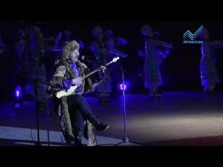 В драмтеатре Черкесска прошел концерт известного ногайского акына Алибия Романова