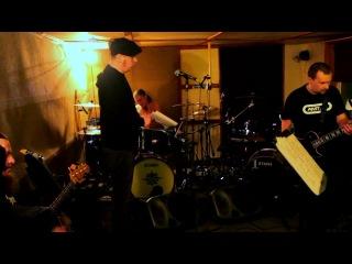 Чёрный Обелиск и Дмитрий Спирин (Тараканы) - Стена (Запись с репетиции 19.03.2012)