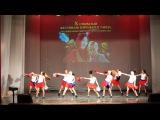 фестиваль народного танца(черлидинг)2014