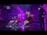 [PERF] 141205 Hyorin X Jooyoung - 지워(Erase) @ KBS2 Music Bank