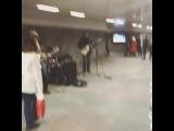 Подземка у Старого Арбата зарядила на вечер!) (19.10.2014)