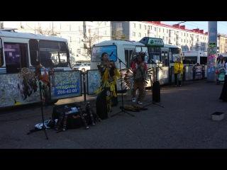 Индейцы в Уфе 13 и 15 августа 2014 округ Галле (11)