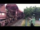 Eisenbahnsommer 2014 Voith Maxima 30CC gibt vollgas mit 41 Schuttgutwagen
