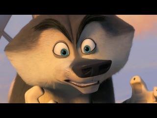 Пингвины из Мадагаскара  Русский трейлер 2 (2014) [HD]