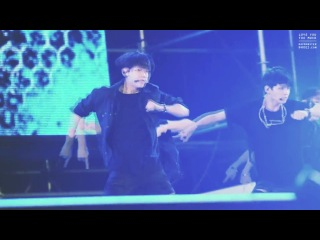 [FANCAM] 140823 BTS - Danger (Rap Monster focus) @ SBS MTV Sharing Concert