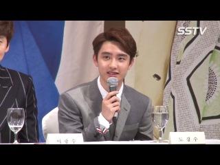 [VIDEO] 140715 D.O @ SBS Drama