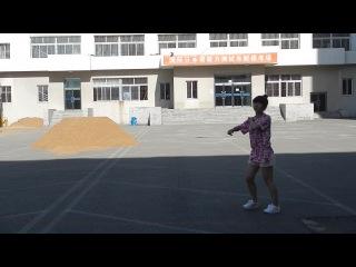 Урок ушу. Ляонинский университет. Шеньян (Китай)