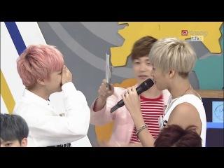[08.07.14] Hyunseong+Jeongmin penalty at After School Club