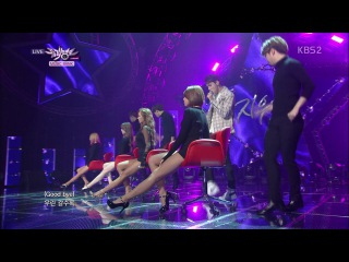 [PERF] 141128 Hyorin X Jooyoung - 지워(Erase) @ KBS2 Music Bank